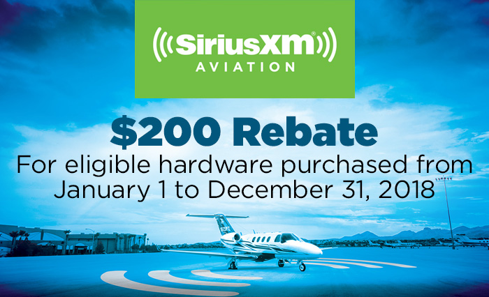 $200 Rebate for eligible hardware purchased from January 1 to December 31, 2018