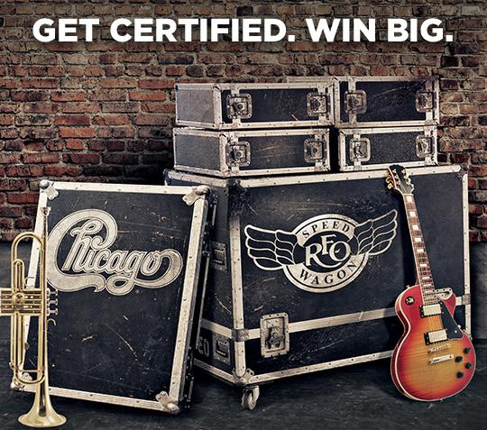 Get certified. Win Big.
